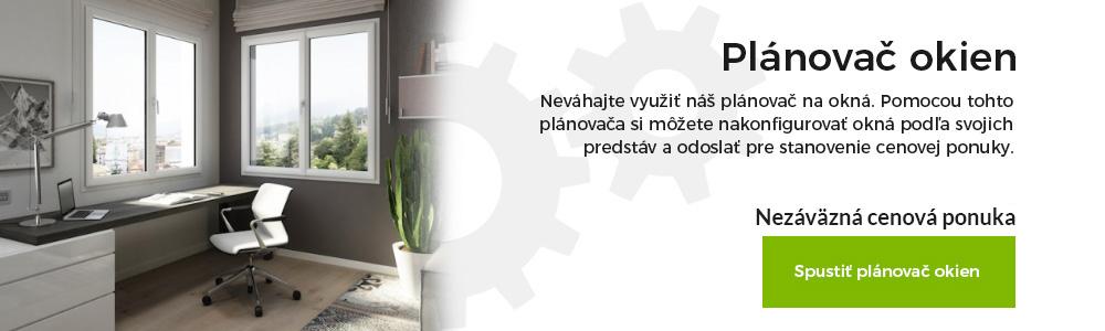 planovač konfigurátor plastové okná