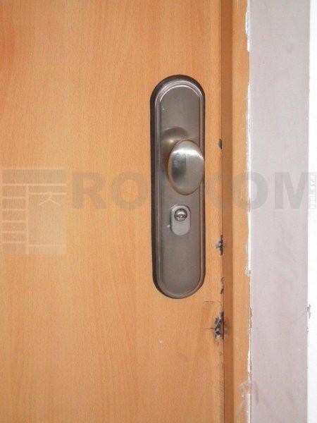 test vlámania bezpečnostné dvere securido