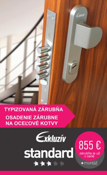 Bezpečnostné dvere exkluzív standard